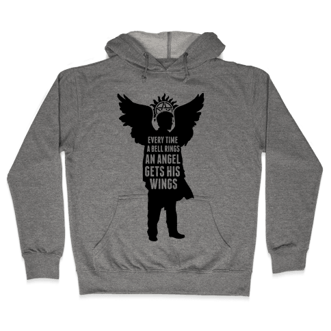 Every Time A Bell Rings Hooded Sweatshirt