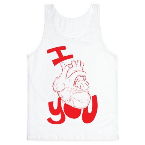 I heart you Tank Top