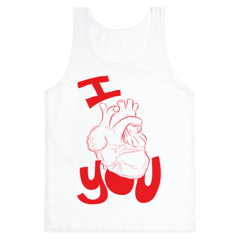 I heart you Tank Top