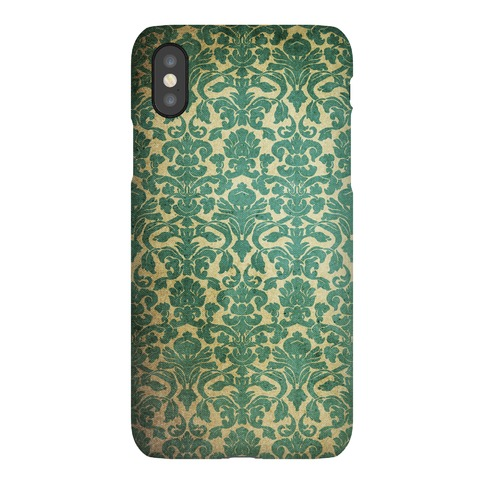 Vintage Damask Wallpaper Pattern Phone Case