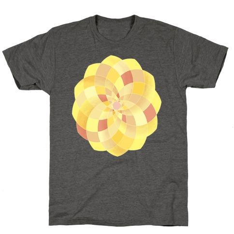 Geometric Summer Blossom T-Shirt