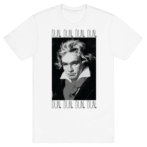 Beethoven Mens T-Shirt