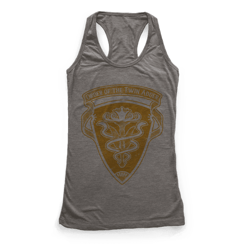 Order of the Twin Adder Grand Company Sigil Racerback Tank Top