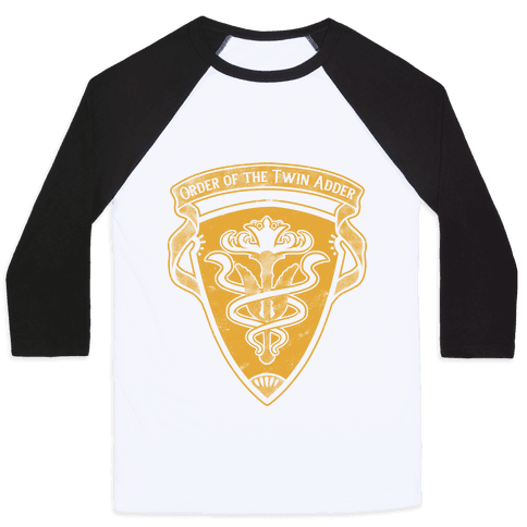 Order of the Twin Adder Grand Company Sigil Baseball Tee