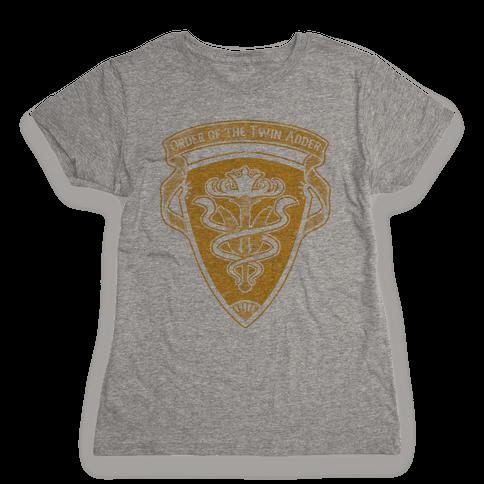 Order of the Twin Adder Grand Company Sigil Womens T-Shirt