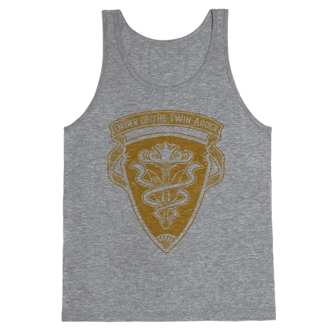 Order of the Twin Adder Grand Company Sigil Tank Top
