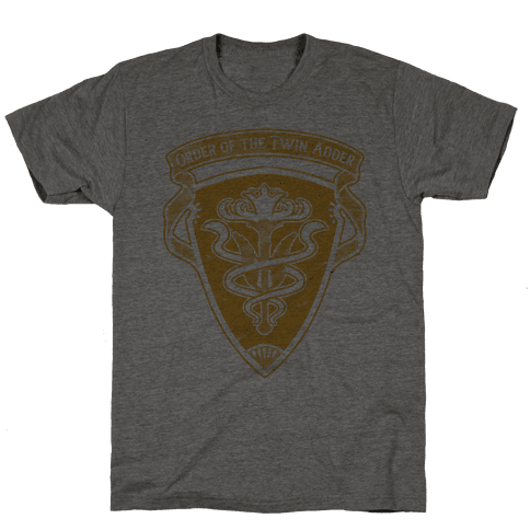 Order of the Twin Adder Grand Company Sigil Mens T-Shirt