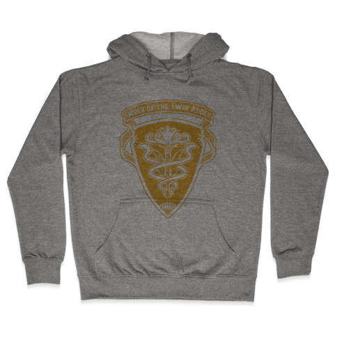 Order of the Twin Adder Grand Company Sigil Hooded Sweatshirt