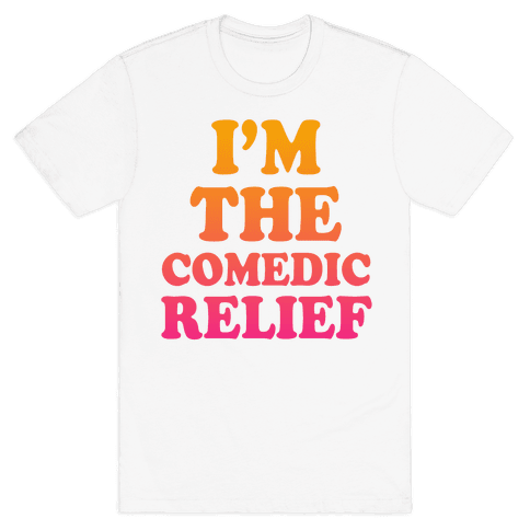 Hero & Comedic Relief (Part 2) Mens T-Shirt