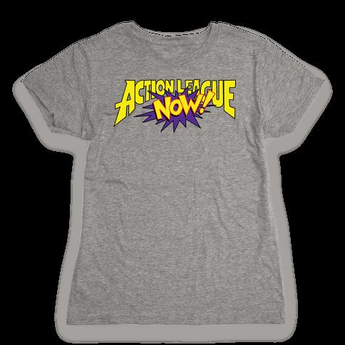Action League Now! Womens T-Shirt
