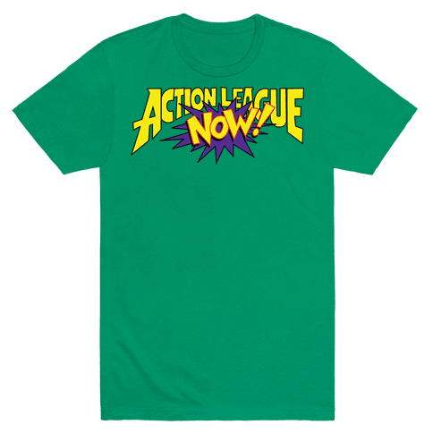 Action League Now! Mens T-Shirt