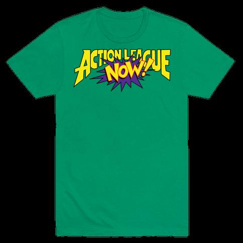 Action League Now! Mens T-Shirt
