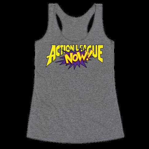 Action League Now! Racerback Tank Top