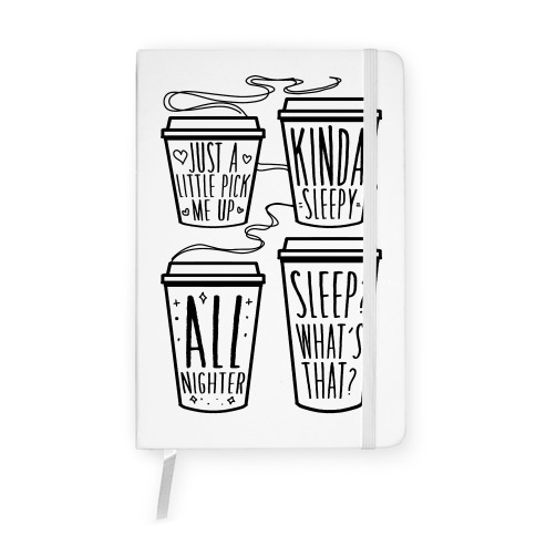 Coffee Sizes For The Restless Notebook