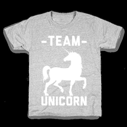 Team Unicorn Kids T-Shirt