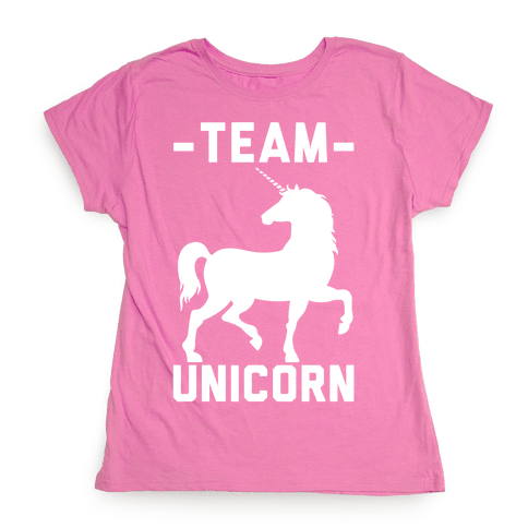 Team Unicorn Womens T-Shirt