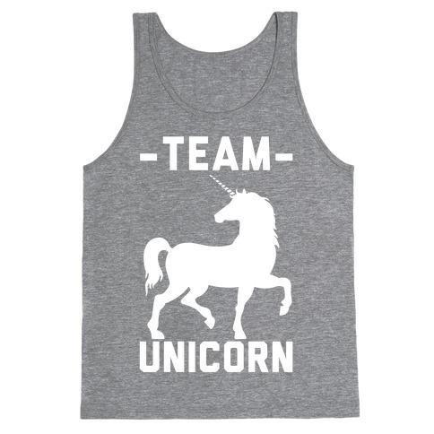 Team Unicorn Tank Top