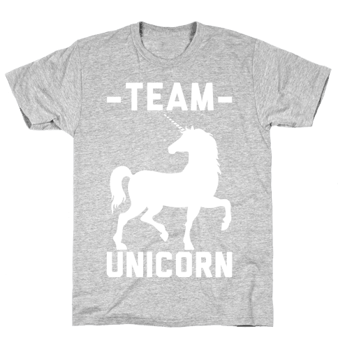 Team Unicorn Mens T-Shirt