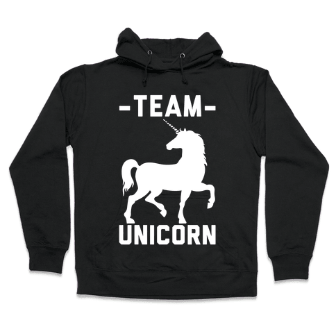 Team Unicorn Hooded Sweatshirt