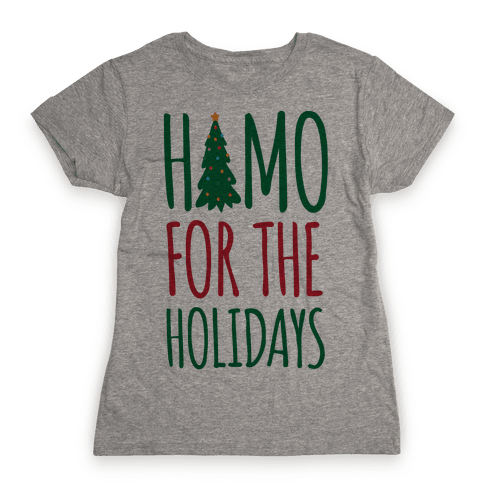 Homo For The Holidays Womens T-Shirt