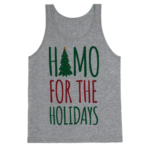 Homo For The Holidays Tank Top