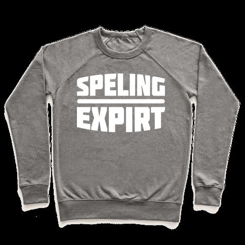 Spelling Expert  Pullover