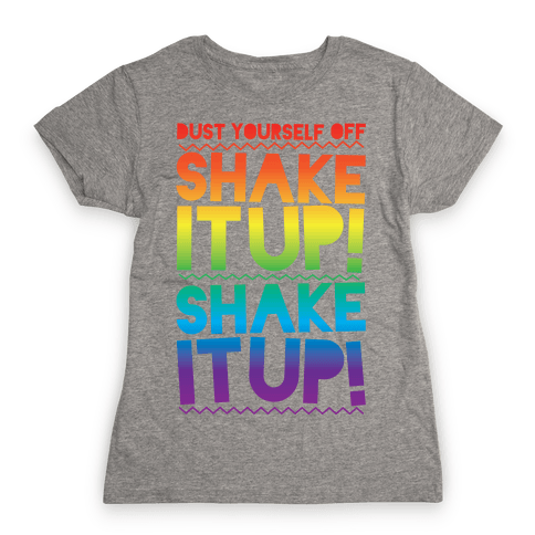 Shake It Up! Womens T-Shirt