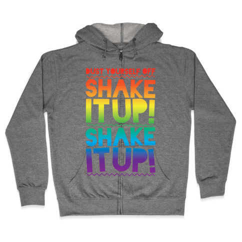 Shake It Up! Zip Hoodie