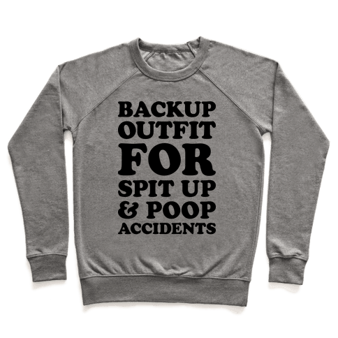 Backup Outfit For Spit Up & Poop Accidents Pullover