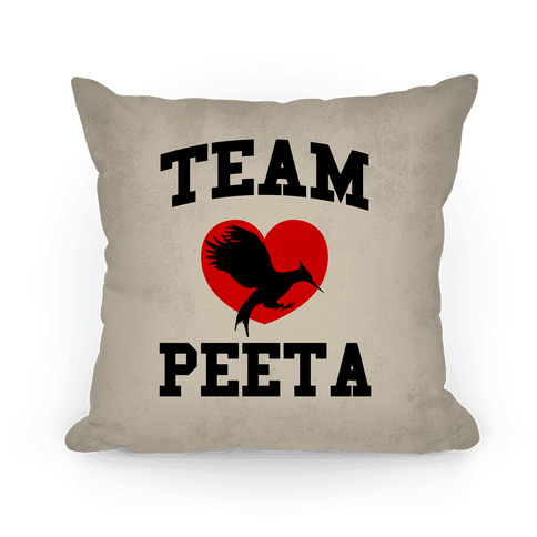 Team Peeta Pillow