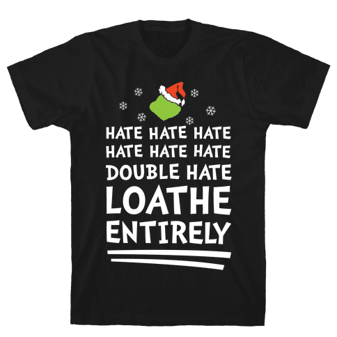Loathe Entirely Mens T-Shirt