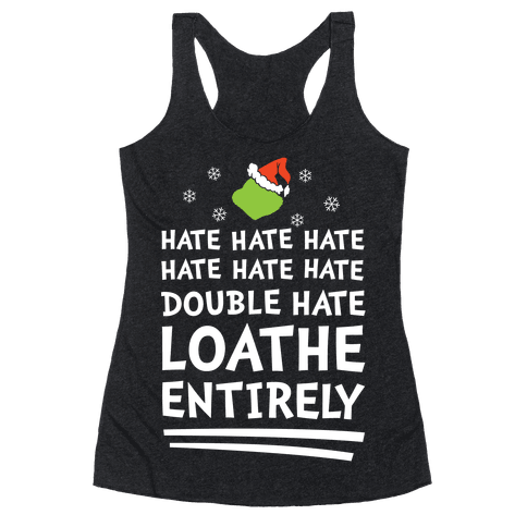 Loathe Entirely Racerback Tank Top