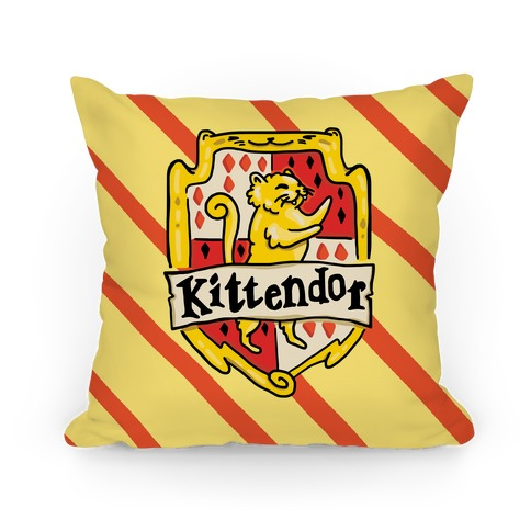House Cats Kittendor Pillow