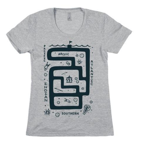 Zoo Plankton Womens T-Shirt