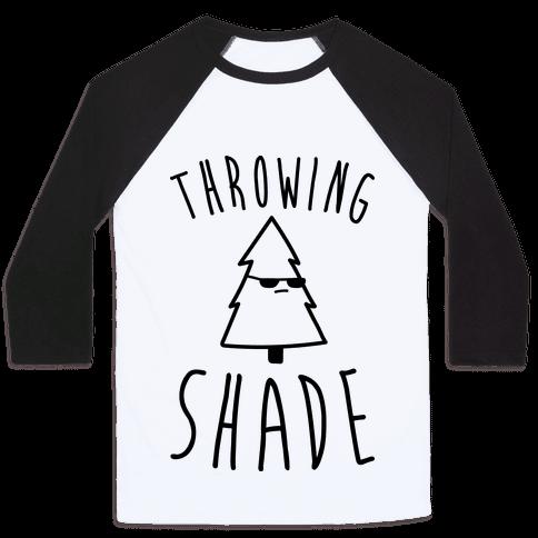 Throwing Shade Tree Baseball Tee