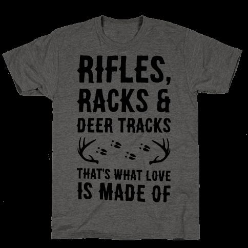 Rifle, Racks & Deer Tracks