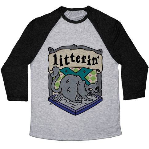 House Cats Litterin' Baseball Tee