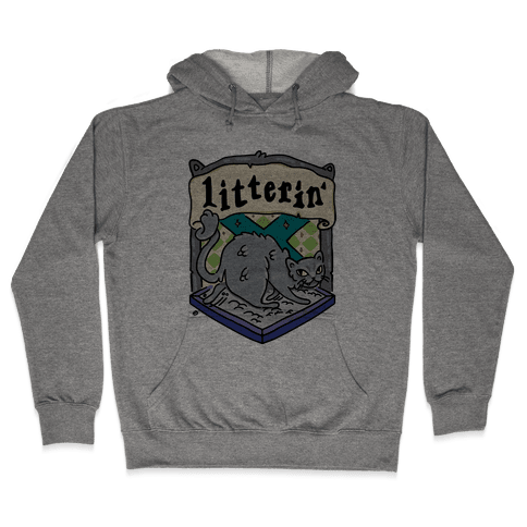 House Cats Litterin' Hooded Sweatshirt