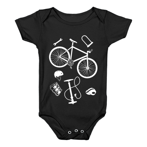 fixed gear cycling tools Baby Onesy