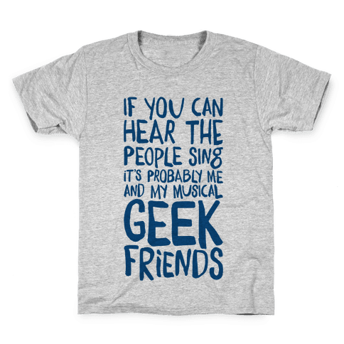 Miserable Musical Geeks Kids T-Shirt