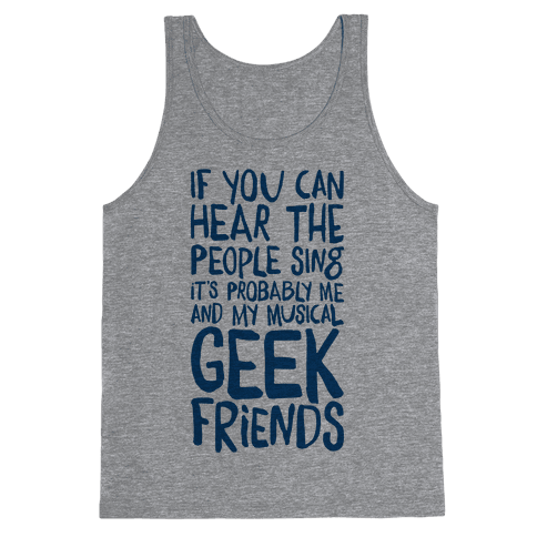 Miserable Musical Geeks Tank Top