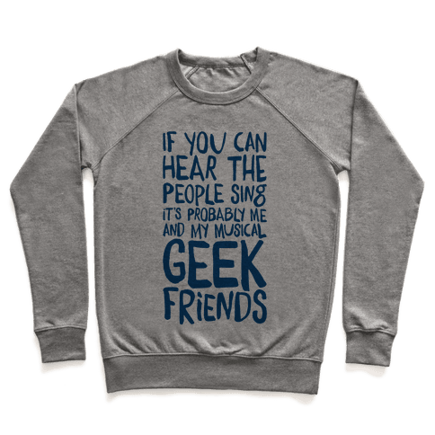 Miserable Musical Geeks Pullover