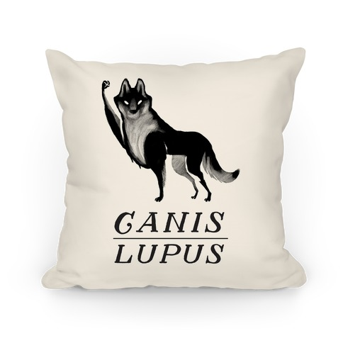 Canis Lupus (Part 2) Pillow