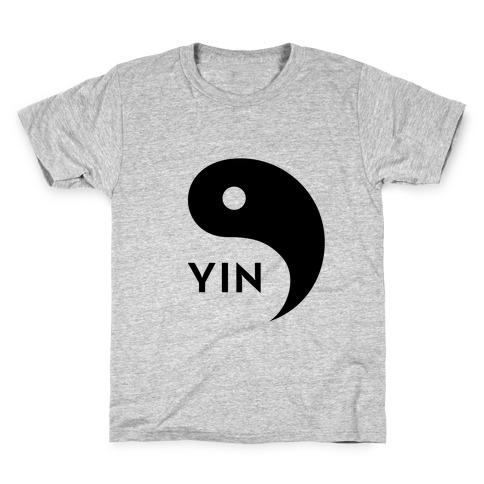 Yin Yang (Yin, Part 1) Kids T-Shirt