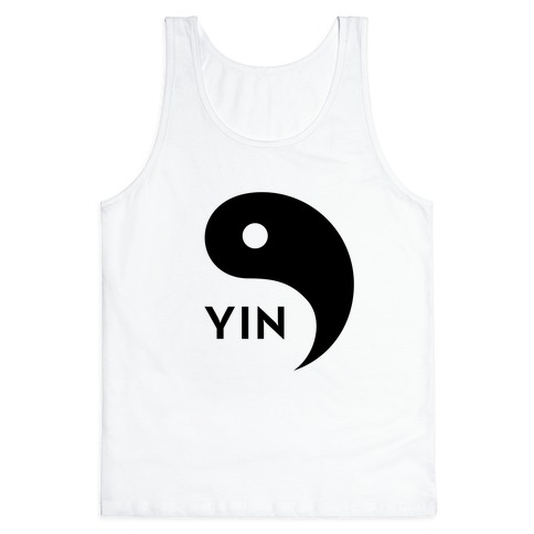 Yin Yang (Yin, Part 1) Tank Top