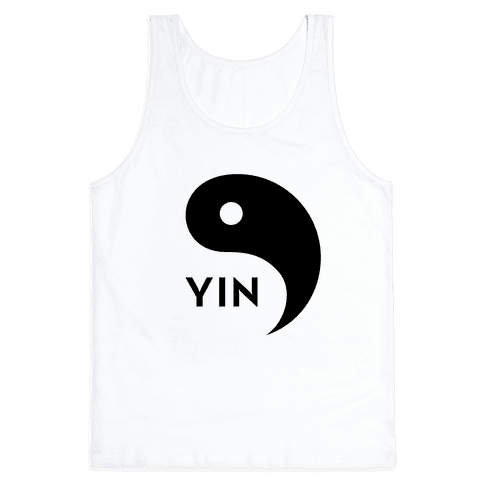 Yin Yang (Yin, Part 1) Tank Top