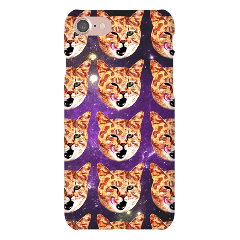 Pizza Cat Galaxy Phone Case