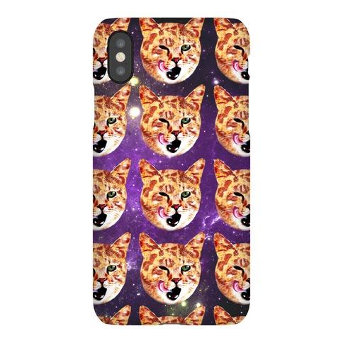 Pizza Cat Galaxy Phone Case
