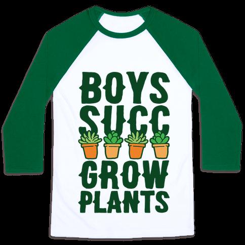 Boys Succ Grow Plants