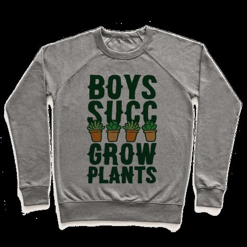 Boys Succ Grow Plants Pullover